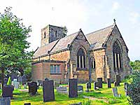 Allestree church in Derby