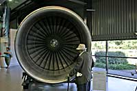 RB211 at Rolls Royce museum
