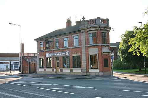 The Brewery Tap pub in  Derby