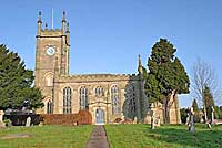 Church of St Matthew at Darley Abbey  in Derby UK
