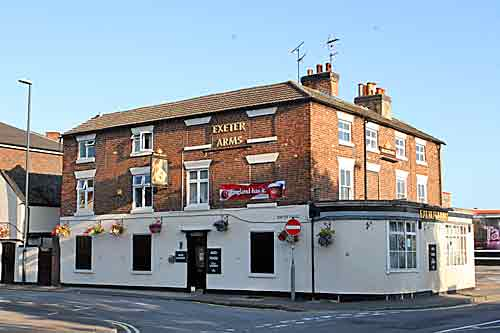 Exeter Arms pub in Derby