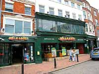 Walkabout pub in Derby Market Place