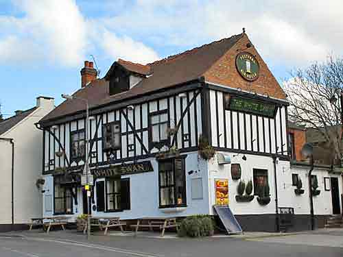 White Swan pub in Littleover, Derby
